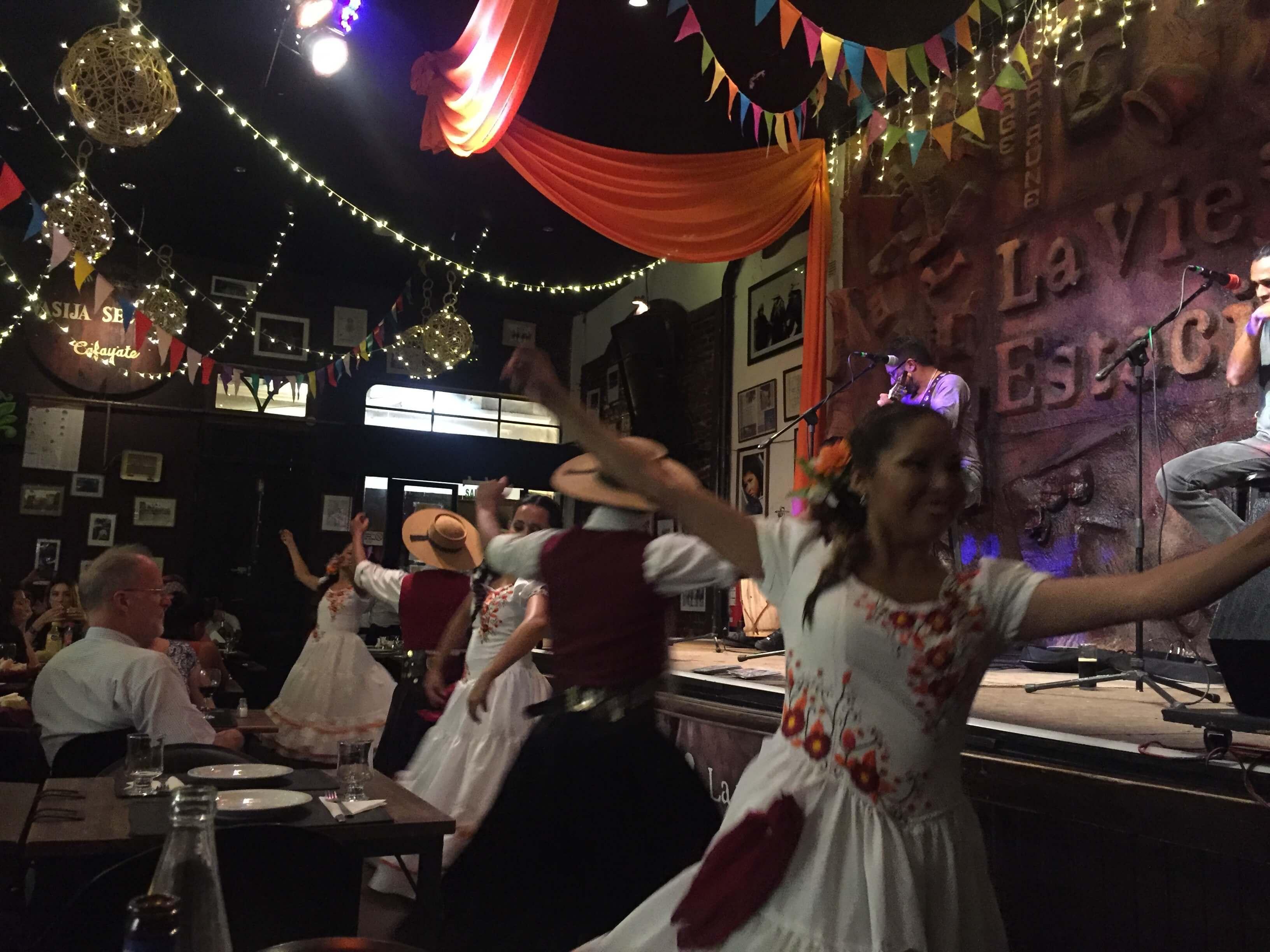 Dancing at La Vieja Estación