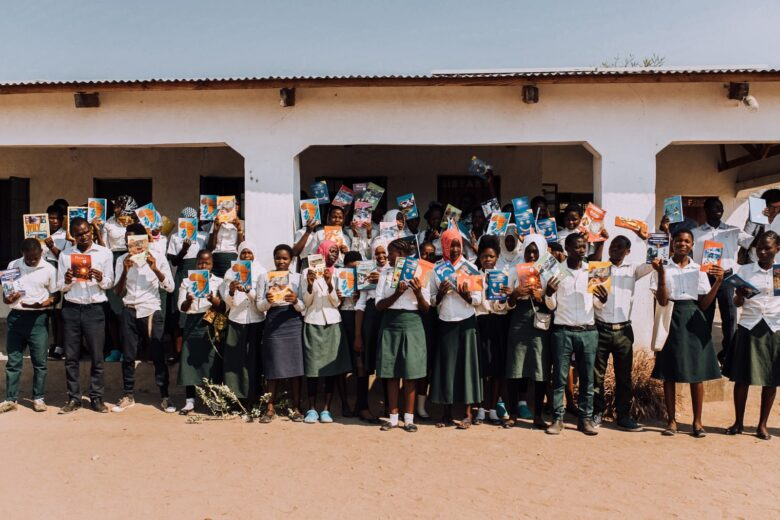 school children at rainbow hope malawi