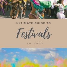 Ultimate Guide to festivals in 2020