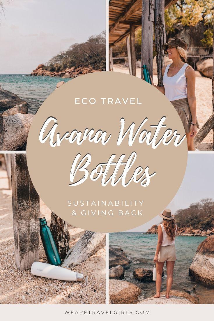 avana water bottle giveaway pinterest cover