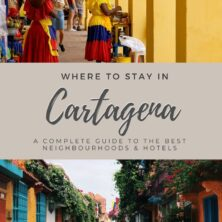 where to stay in Cartagena Colombia pinterest cover