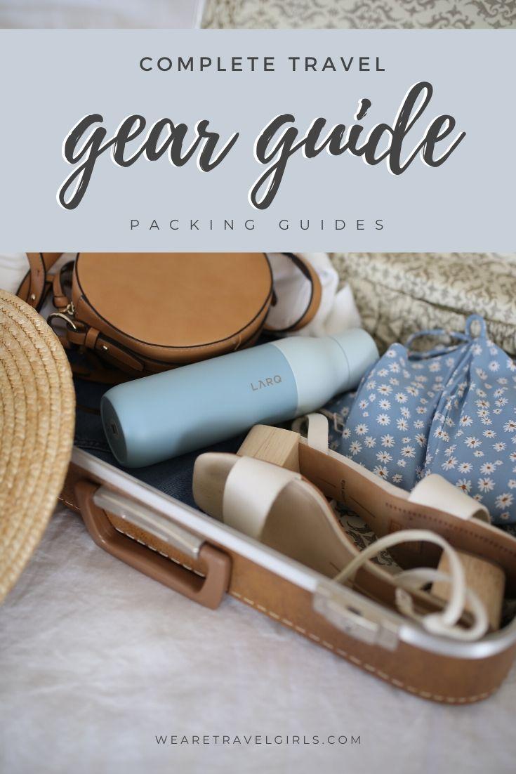 travel gear guide pinterest cover