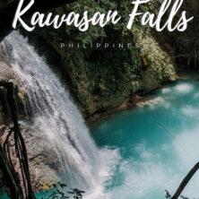 kawasan falls philippines pinterest cover
