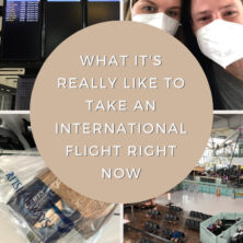 What It's Really Like To Fly Internationally Right Now Pinterest Cover