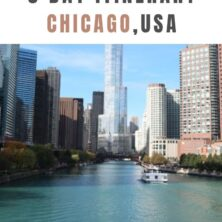 Chicago, USA: A 3 Day Itinerary