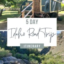 Experience Idaho On A 5-Day Road Trip Pinterest Cover