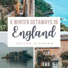 The 5 Best Winter Getaways In England