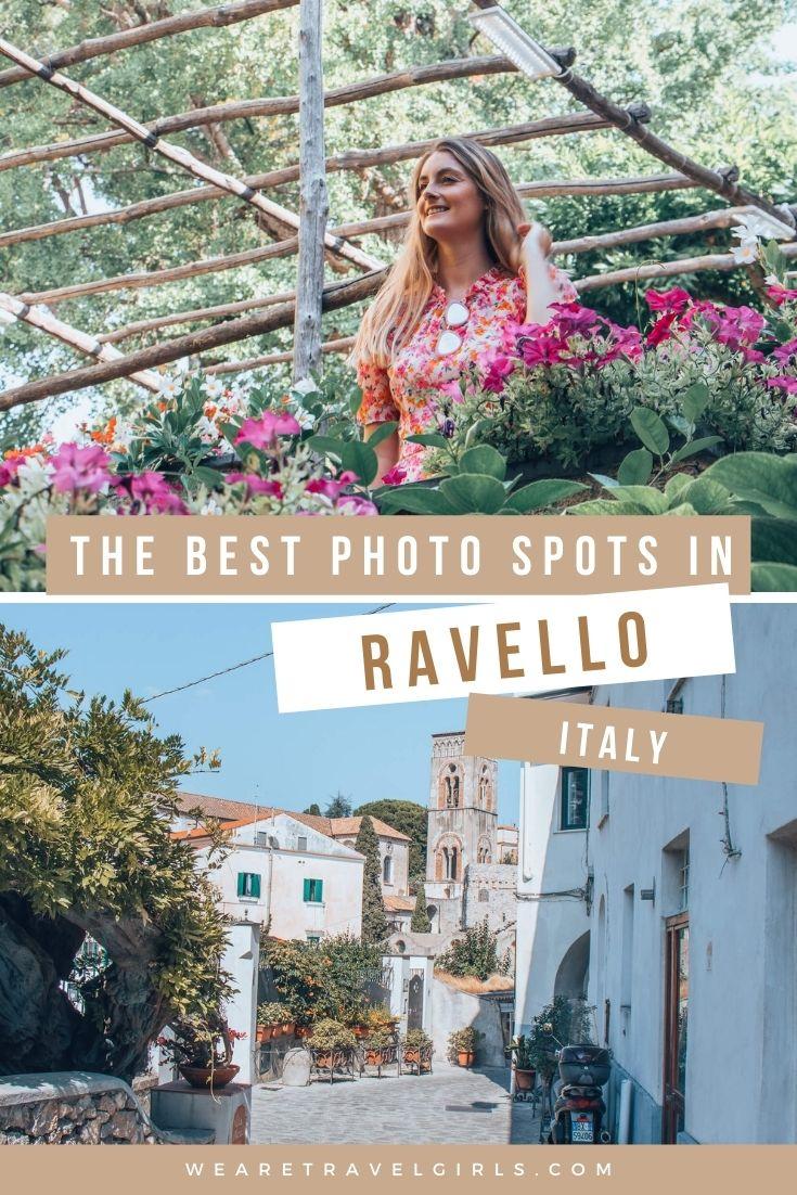 Spot fotografici a Ravello per le foto di Instagram